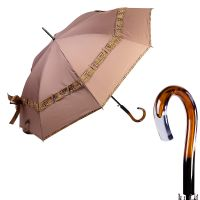 Зонт-трость Ferre 5010-LA Biocco Marrone