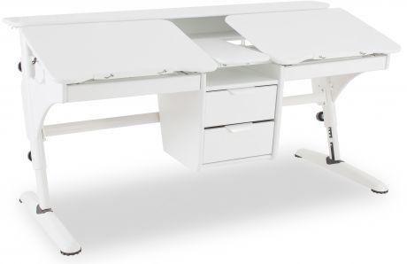 Растущий стол «PONDI» из МДФ Эргономик для двоих детей