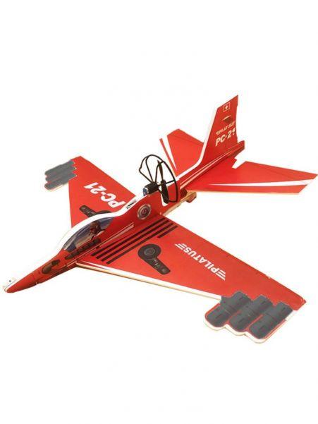 Сборный самолет-истребитель с автономным мотором