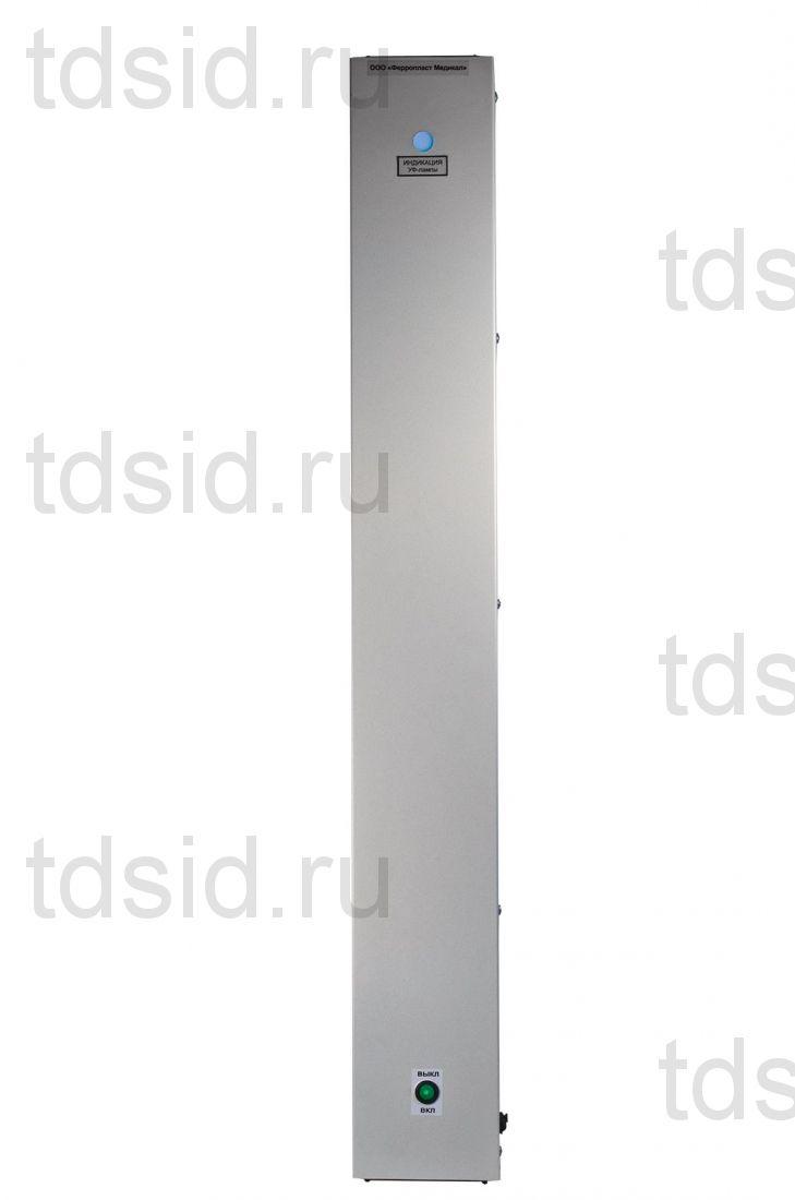 Облучатель-рециркулятор РБ-18-Я-ФП-01 НАСТЕННЫЙ