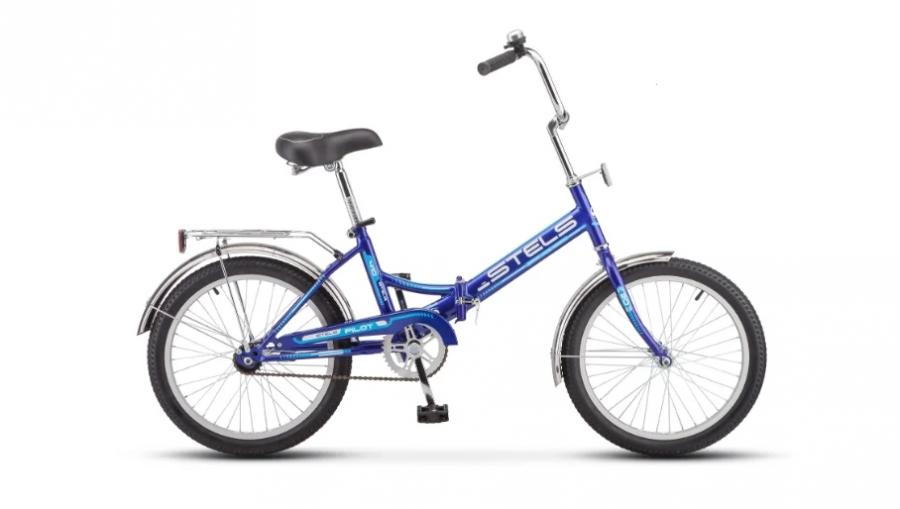 Городской велосипед STELS Pilot 410 20 Z011 Синий