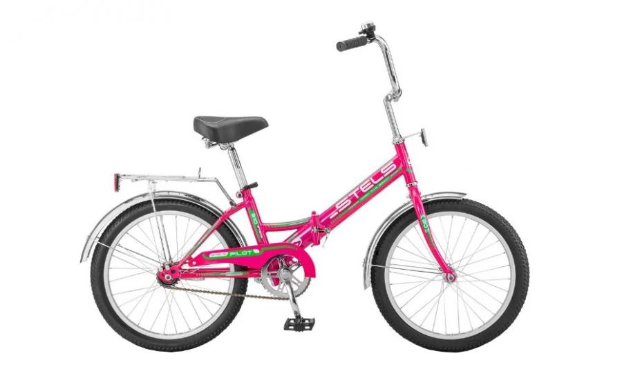Городской велосипед STELS Pilot 310 20 Z011 (2018) Малиновый