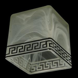 "Плафон ""Куб""  E27  мат.   2773512"