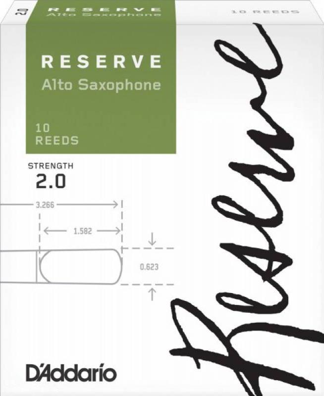 RICO DJR1020 Reserve Трость №2 для саксофона Альт
