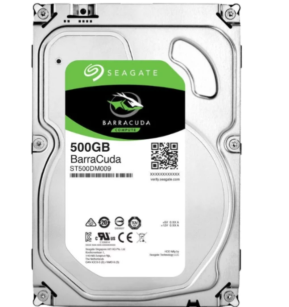 Жесткий диск Seagate Barracuda 500 GB ST500DM009