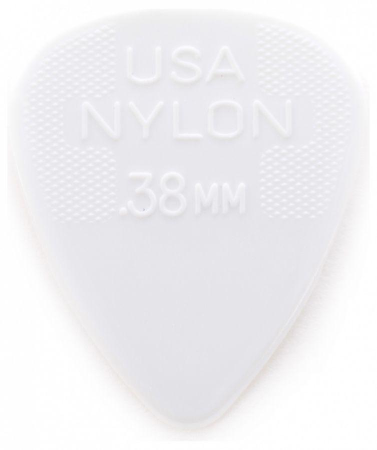DUNLOP 442R.38 Nylon Standard Медиатор 0.38мм