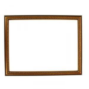 Рама для зеркал и картин, пластик, 30 х 40 х 2.8 см, Calligrata 644813, золото