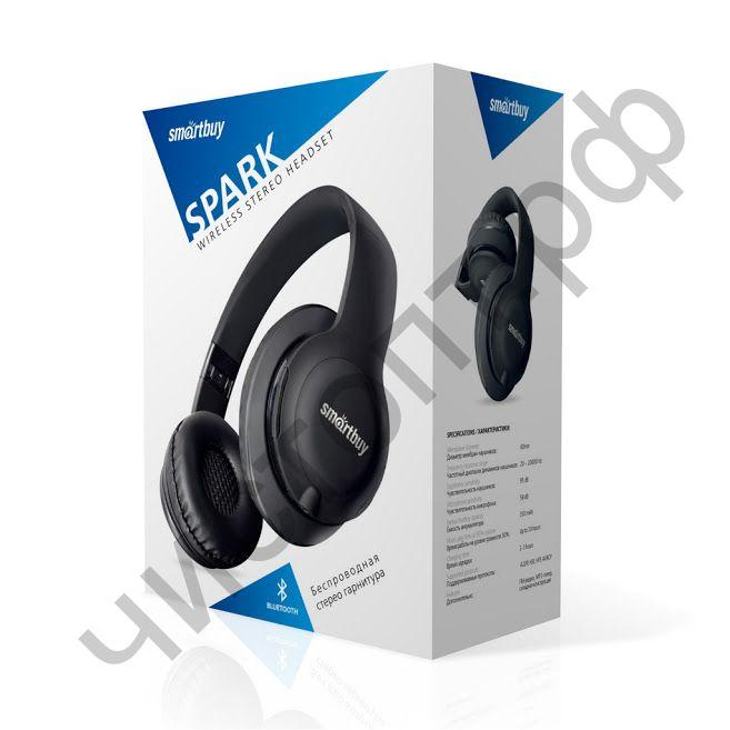 Bluetooth гарнитура стерео Smartbuy SPARK, черн (SBH-7040)