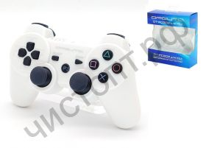 Джойстик для PS3 OT-PCG02 Белый SIXAXIS DualShock3 2.4GHz Wireless беспроводн.