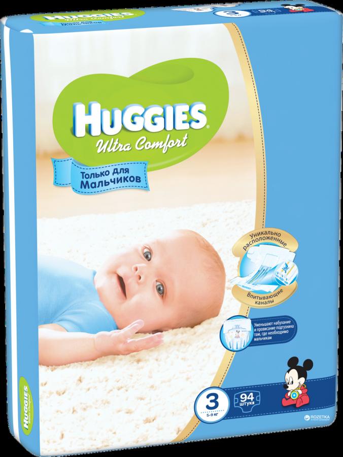 "Huggies ""Ultra Comfort 3"" 94 шт."