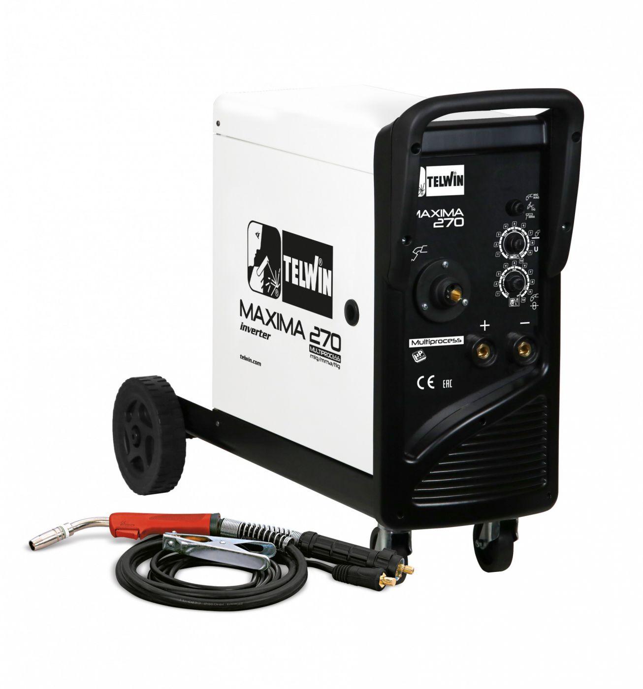 Сварочный полуавтомат MAXIMA 270 SYNERGIC 230V