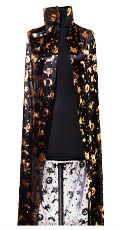 Накидка черно-золотая (120 см)