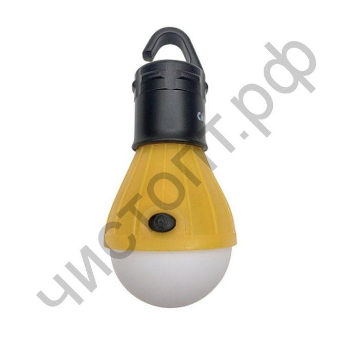 """Фонарь кемпинг аккум. """"СИБИРСКИЙ СЛЕДОПЫТ-LAMP"""", 3 LED, 3хААА"""