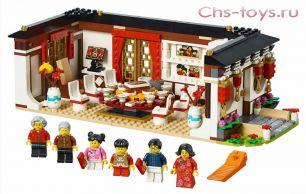 Конструктор Lari Ужин в канун Китайского Нового года 11142 (80101) 646 дет