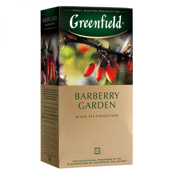 Чай Гринфилд Барбари гарден черный 25пак*1,5г