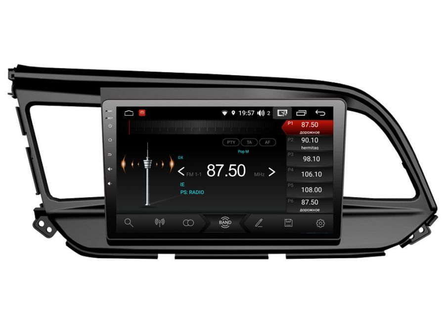 Магнитола для Hyundai Elantra (2018-2020) 09HL