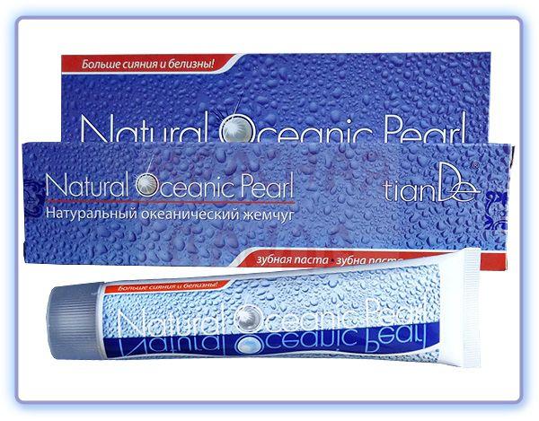 TianDe Зубная паста Натуральный океанический жемчуг