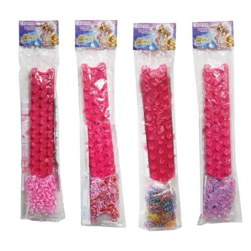 1toy Набор для плетения фенечки Winx, 300 резинок