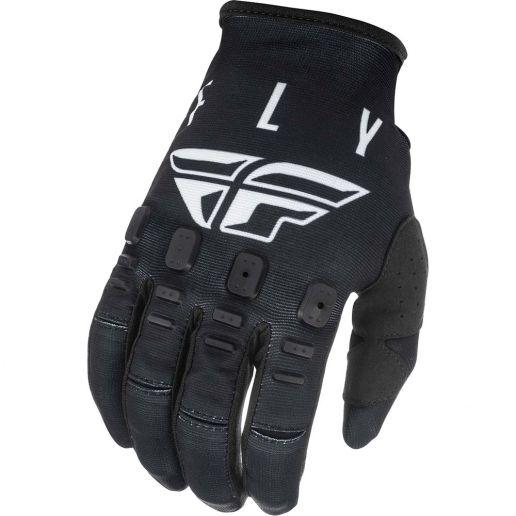 Fly Racing 2021 Kinetic K121 Black/White перчатки