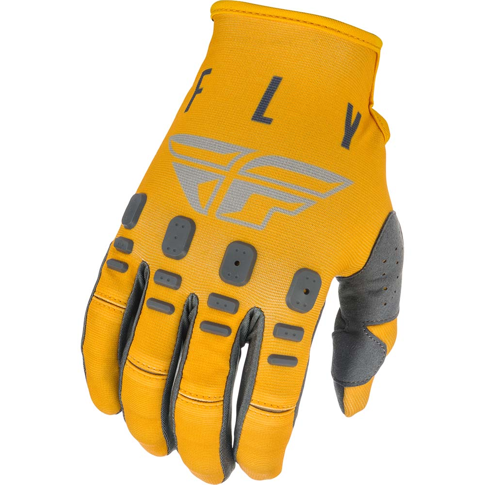Fly Racing 2021 Kinetic K121 Mustard/Stone/Grey перчатки