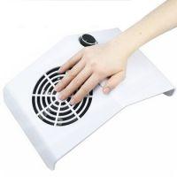 Подставка пылесос настольный для маникюра с вентилятором белый