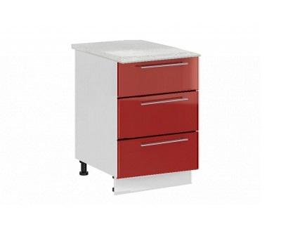 Шкаф нижний с 3 ящиками Ксения ШН3Я 800