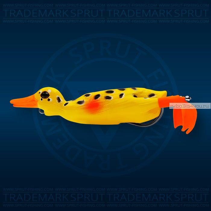 Воблер Sprut Duck Shot 100TW 100мм/16,5 гр / цвет: BNN