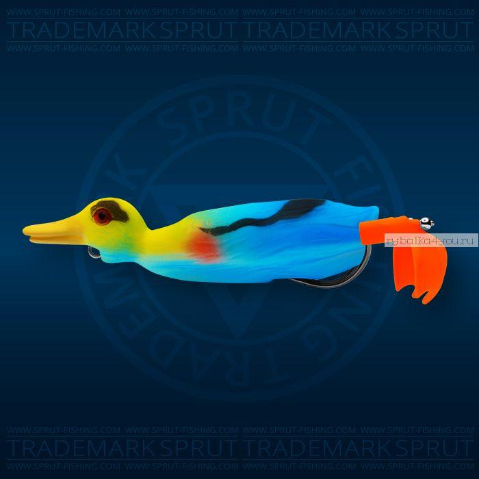 Воблер Sprut Duck Shot 100TW 100мм/16,5 гр / цвет: KF