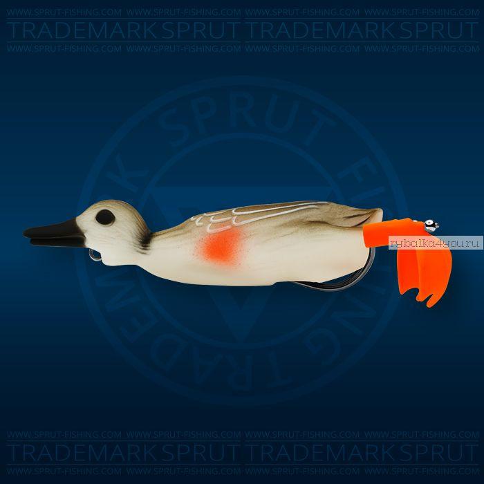 Воблер Sprut Duck Shot 100TW 100мм/16,5 гр / цвет: MLD