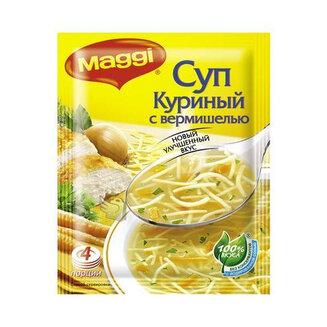 Суп Магги куриный с верм. 50г