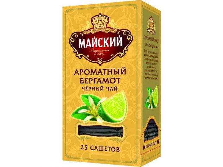 Чай Майский Ароматный Бергамот 25пак*2г