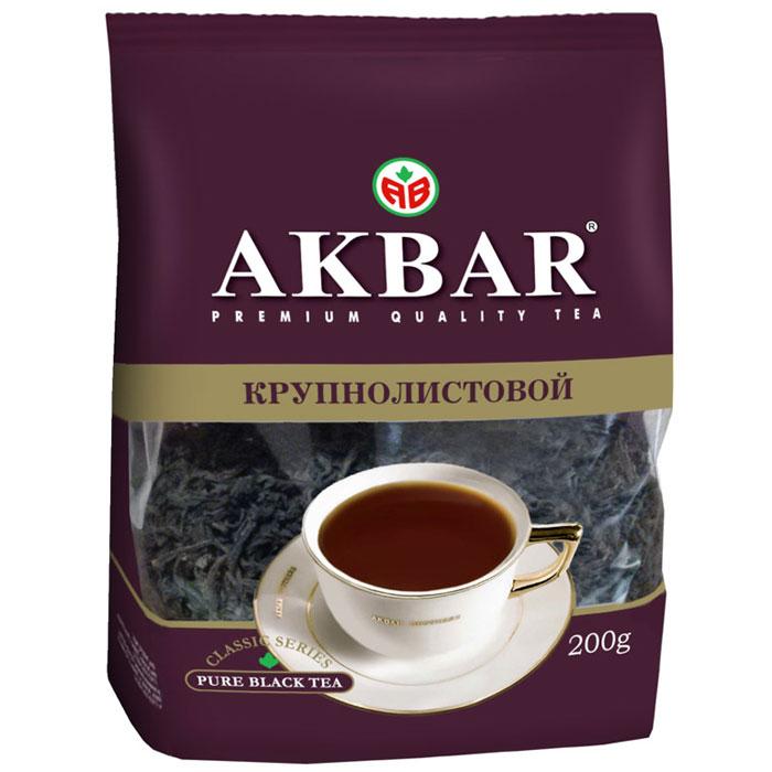 Чай Акбар Классическая серия (крупный лист) 200г