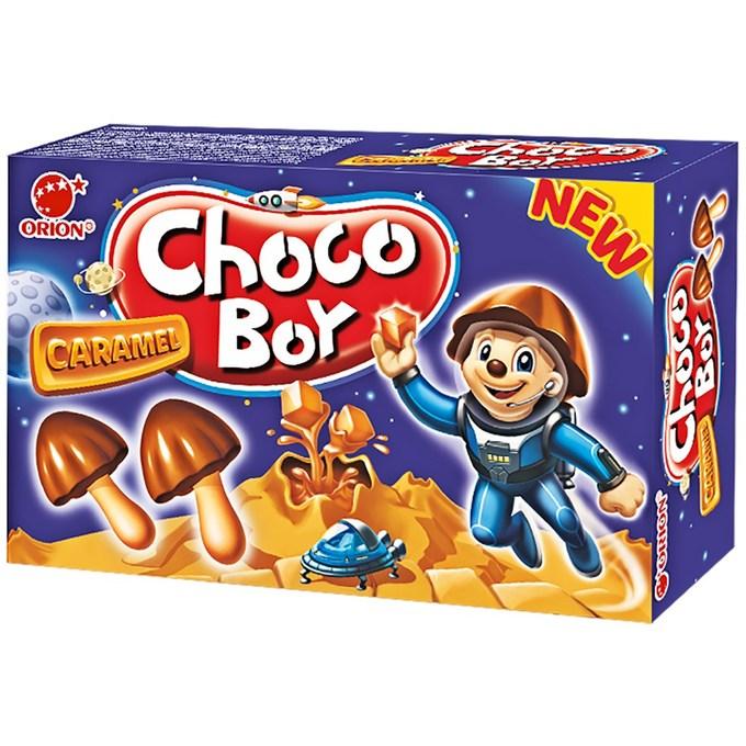 Печенье Чоко Бой карамель 100г Орион