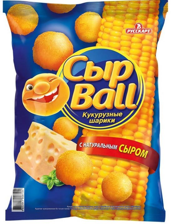 Кукурузные шарики СырBal сыр 140г