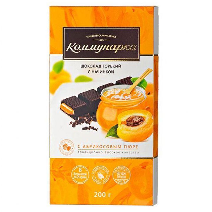 Шоколад Горький с пюре из абрикоса Беларусь 200г
