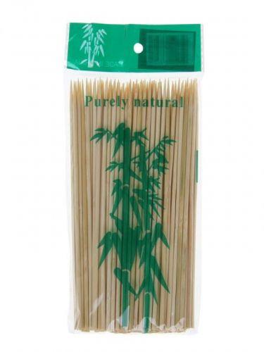 Шпажки-шампуры деревянные (бамбуковые) 100шт 30см