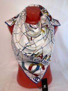Шелковый платок Chanel, арт. 078