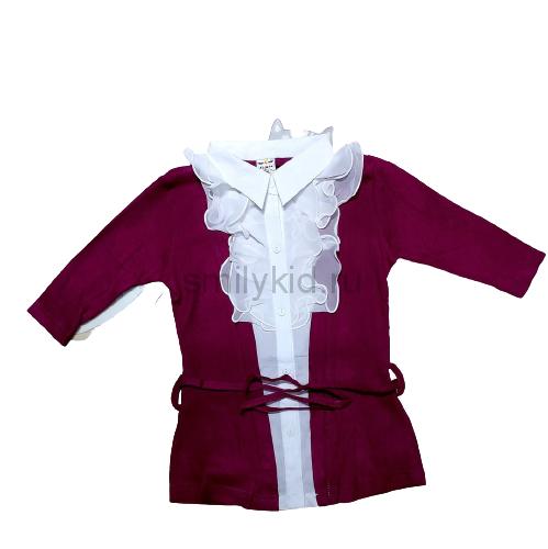 Блузка для дев. оптом   5 шт