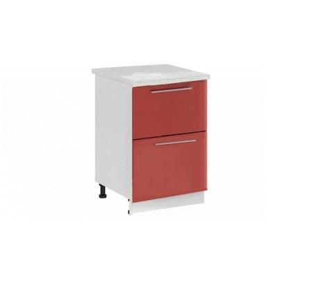 Шкаф нижний с 2 ящиками Ксения ШН2Я 800