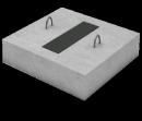 Опорная подушка ОП 4-4 (с закладной)
