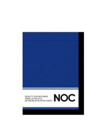 NOC Original Deck (Blue) Printed at USPCC by The Blue Crown