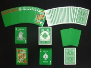 Игральные карты Bicycle Rider Back Playing cards - The Green Deck (зелёные)