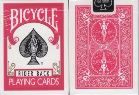 Игральные карты Bicycle Rider Back Playing Cards Pink Limited  (розовая)