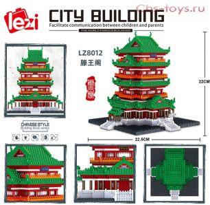 Конструктор LEZI Architecture Дворец LZ8012  3000 дет