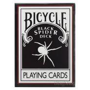 Игральные карты Bicycle Black Spider Deck By Magic Makers