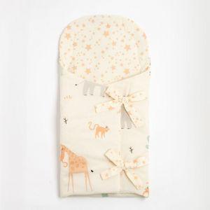 """Одеяло-конверт """"Крошка Я"""" Safari, 33х73 см, 100% хлопок 5100060"""