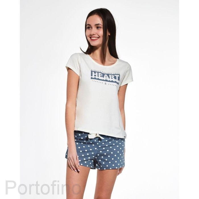363-33 Пижама подростковая девочки Cornette
