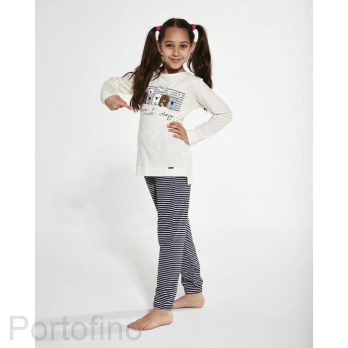 781-129 Пижама для девочек Cornette