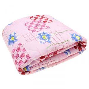 Одеяло 1,5сп облег 145х205 микрофайбер 200г/м, бязь МИКС 120г/м хл100% 2245770
