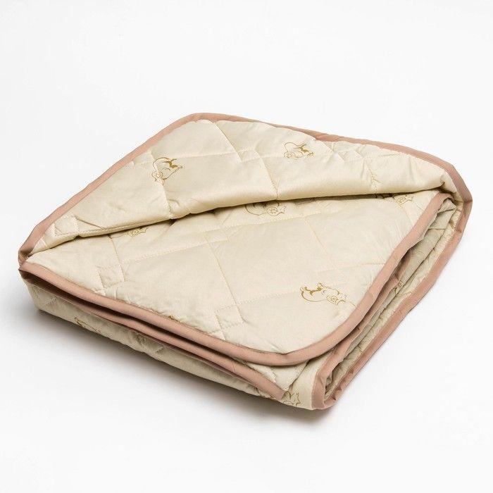 Одеяло 140*205 полиэстер, овечья шерсть 150г/м, сумка, МИРОМАКС   2634192
